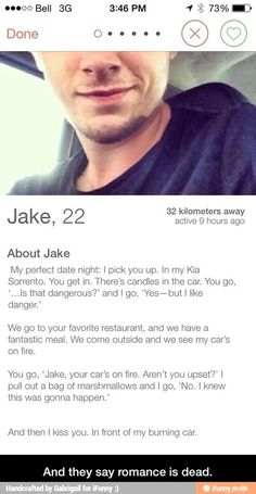 Good tinder profile text