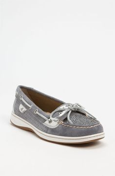 LOVE THESE SO MUCH IN PERSON. Sperry Top-Sider® 'Angelfish' Boat Shoe available at #Nordstrom