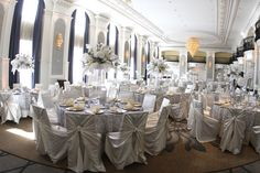 The beautifully renovated Venetian Ballroom @ The Westin Book Cadillac in Downtown Detroit