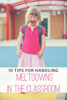 Great classroom management blogpost!  How to handle tantrums & meltdowns in the classroom- Practical tips for helping students through meltdowns while teaching the rest of your class!