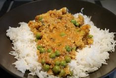 Zöldséges korma Vegan Vegetarian, Vegetarian Recipes, Paleo, Wok, Food And Drink, Rice, Lunch, Baking, Diet
