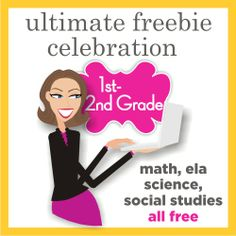 First Grade and 2nd Grade Free Download - Over 500 Teacher Freebies on Teaching Blog Addict!