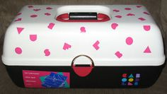 Caboodle!!! I still have one of my kid's caboodles and used it when I was making jewelry and before that crafts!
