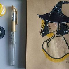 #inktober#inktober2017#ink#witch#oc#illustration#art#character#desing#artwork#drawing#sketchbook#sketch#artbook#polishart#polishgirl#nataterart#ilustracja#rysunek#szkic