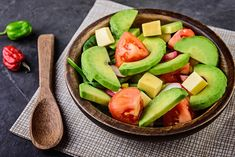 Cómo hacer ensalada de aguacate Honeydew, Cantaloupe, Latin Food, Natural, Food And Drink, Lunch, Fruit, Cooking, Recipes