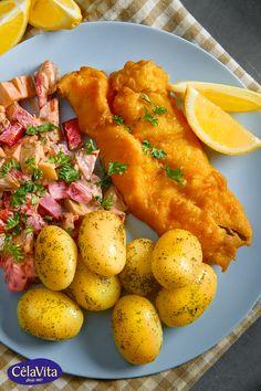 Dutch Recipes, Fish Recipes, Beef Recipes, Cooking Recipes, Healthy Recipes, Good Food, Yummy Food, Guacamole Recipe, Meatloaf Recipes