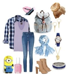 """""""✏️ boring school"""" by snany ❤ liked on Polyvore featuring Banana Republic, Lot78, Alexis Bittar, Calvin Klein, Vivienne Westwood, Sonal Bhaskaran, Aéropostale, Fendi, Chico's and Kenneth Jay Lane"""