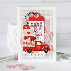 Echo Park Paper Co. (@echoparkpaper) • Instagram photos and videos Diy Birthday, Birthday Gifts, Echo Park Paper, Scrapbook Cards, Scrapbooking, Papers Co, Valentine Day Cards, Sweet Life, Cupid