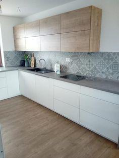 Modern Kitchen Cabinets, Kitchen Interior, Kitchen Ideas, New Homes, Dining, House, Rooms, Inspiration, Craft