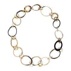 Horn Link Necklace.