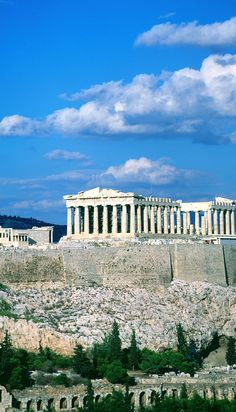 Parthenon in Athens, via #Greece. Took Greek Mythology in undergrad; it's only right I see this.