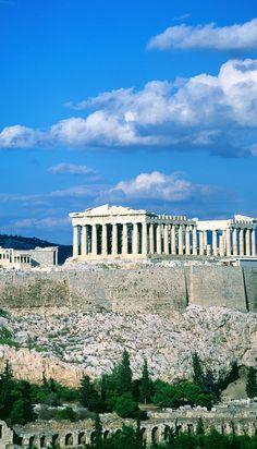 Parthenon in Athens, via #Greece. Europe Travel.