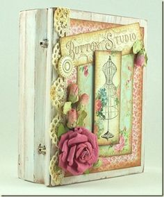 See Sewing Samples like this Altered Notions Box by Lana Edwards using Sew Nice Creative Scraps by Crafty Secrets