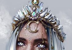 My Drawings, Fantasy Art, Mermaid, Princess Zelda, Female, Character, Crowns, Drawings, Fantastic Art