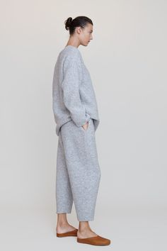 Fashion Tips Color Lauren Manoogian Knitweave Pantaloons in Grey.Fashion Tips Color Lauren Manoogian Knitweave Pantaloons in Grey Lounge Outfit, Lounge Wear, 80s Fashion, Korean Fashion, Fashion Tips, Fashion Design, Boho Fashion, Grey Fashion, French Fashion