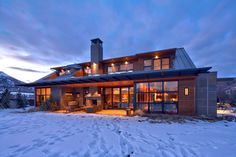 House in Aspen by Lipkin Warner - Luxurious Houses With Stunning Architecture And Interior Design