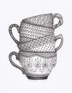 zentangle-jokegeers-kopjesenzo-pentekening-witengrijs.jpg (450×580)