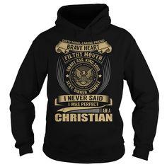 CHRISTIAN Last Name, Surname T-Shirt