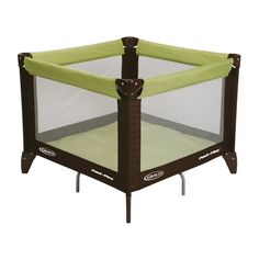 Baby Play Yard Mat Pad Cushion Bed Room Living Portable Safety Infant Green #Graco