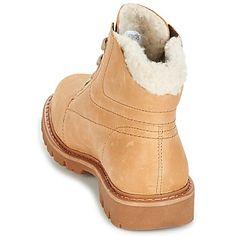 71beac1b Caterpillar FRET FUR Beige - Zapatos Botas de caña baja Mujer 99,99 €
