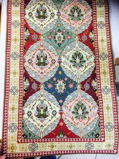 Cross Stitch Embroidery, Cross Stitch Patterns, Bohemian Rug, Pillows, Rugs, Crafts, Home Decor, Art, Art Paintings