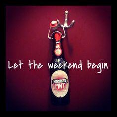 Pioneering on Fridays. Let The Weekend Begin, Sauce Bottle, Bottle Opener, Chill, Friday, Bottle Openers