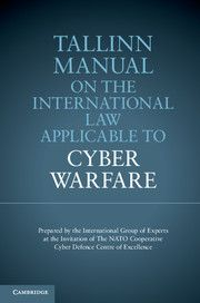 The Tallinn Manual on the International Law applicable to #cyber #warfare #cyberbullying