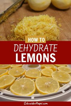 Excellent Toddler Shower Centerpiece Tips Homemade Dried Lemons Are An Easy Beginner Dehydrating Project. Dried Lemons Are Wonderful For Using In Cooking And In Crafts. Drying Lemons Is An Easy Way For Beginners To Gain Confidence In Their Preserving Food Dehydrated Vegetables, Dehydrated Food, Lemon Recipes, Healthy Recipes, Dried Lemon, Canning Recipes, Canning Tips, Preserved Lemons, Dehydrator Recipes