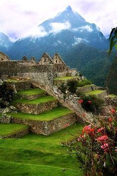 Lost City of the Incas - Machu Picchu, Peru