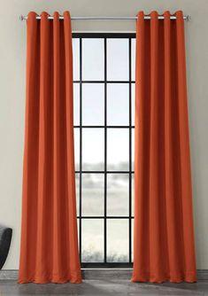 Exclusive Fabrics & Furnishings Grommet Blackout Curtains | belk