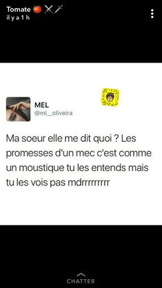 Funny Quotes, Funny Memes, Jokes, Lol, Best Tweets, Laughing And Crying, Totalement, How To Speak French, French Quotes
