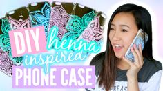 DIY Henna Inspired Phone Case Tutorial | TutorialsByA. This girl does a really good job at drawing the very intricate details in the design. Checkout the video.