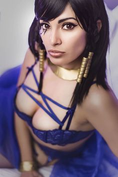 Meevers Desu as Underwatch Pharah (photo:Elysiam Entertainment)