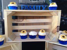 Sunflower wedding cake from The Joyful Bakery Auburn, WA  #sunflowerweddingcake #sunflowercake #sunflower