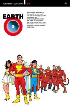 The DC Multiverse - Earth 5 Faucett City Captain Marvel Shazam, Mary Marvel, Marvel Dc, Shazam Comic, Arte Dc Comics, Dc Comics Superheroes, Dc Comics Characters, Dc Universe, Gi Joe