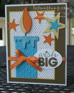 Wish Big Candle Card