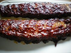 spare ribs takes almost 5 hours but it is worth it . Spare Ribs, 5 Hours, Meatloaf, Baking, Desserts, Food, Tailgate Desserts, Pork Ribs, Deserts