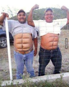 Here are some sexy guys with 8 pack for you ladies