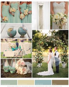 wordly wedding inspiration board by @Rose Murphy
