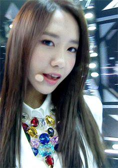 Yoona SNSD Girls Generation Mr Mr Closeup Beauty GIF