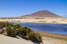 Tenerife, Costa, El Medano, Mount Rainier, Surfing, Mountains, Water, Travel, Outdoor