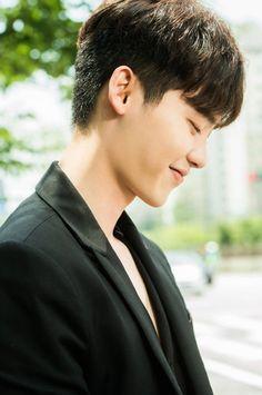 Lee Jong Suk shows off his playful, boyish side in 'W' behind cuts   allkpop.com