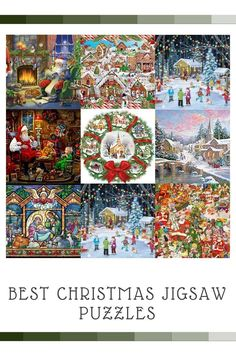Best Christmas Jigsaw Puzzles  Christmas jigsaw puzzles are cute, adorable and a fun activity to do with family and friends.  I especially love the Thomas kinkade Christmas jigsaw puzzles.   I love how these puzzles are so colorful, vivid and pretty to lo