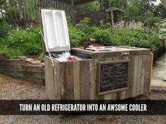 make-a-cooler-from-a-broken-refrigerator
