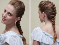 cabelos com tranças embutidas passo a passo