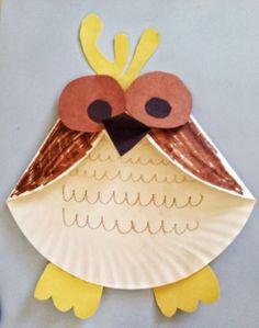 Paper Plate Craft Activities Fun Activities For Kids Paper Plate Owl Craft Fun Activities For - Easy Crafts for All Kids Crafts, Paper Plate Crafts For Kids, Fun Arts And Crafts, Owl Crafts, Animal Crafts, Toddler Crafts, Preschool Crafts, Paper Crafts, Bunny Crafts