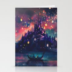 The Lights Stationery Cards by Alice X. Zhang - $12.00