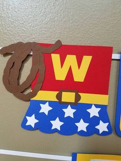 Wonder Woman Happy Birthday Banner Wonder Woman Banner