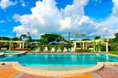 Augustine Grove by Crown Asia - Swimming Pool Big Houses, Elegant Homes, Inspired Homes, Home Builders, Canopy, Countryside, Philippines, Swimming Pools, The Neighbourhood