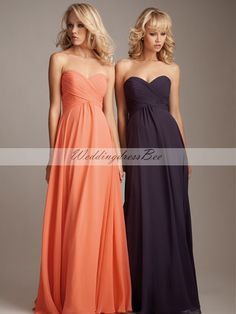 A-line empire waist chiffon dress - Could be the one!!